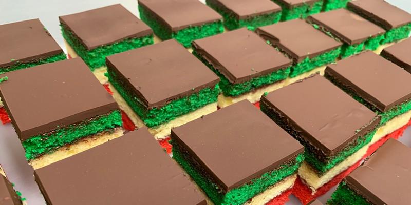 Taste the rainbow cookies.