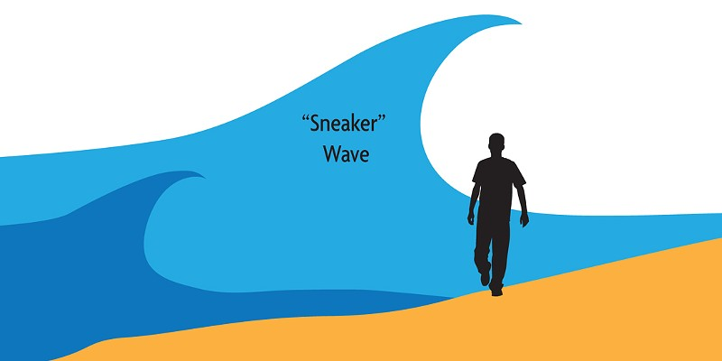 UPDATE: Sneaker Wave Warning Issued (with Video)