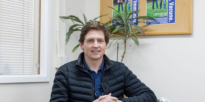 County Health Officer Ian Hoffman