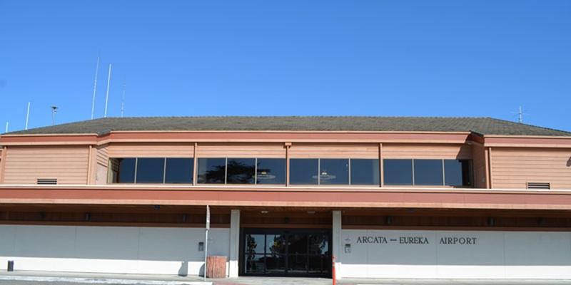 The California Redwood Coast – Humboldt County Airport.