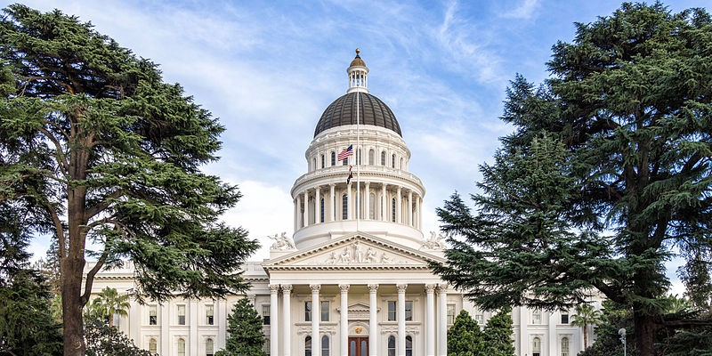 The California State Capitol.
