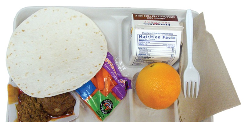 Schools have ditched the lunch trays and turned to brown bags amid unprecedented COVID-19 shutdowns in an effort to keep children fed while schools are shuttered.