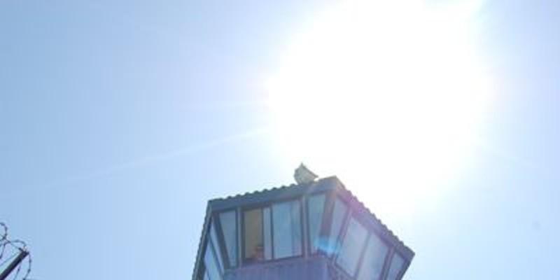 One of Pelican Bay's 11 perimeter guard towers.