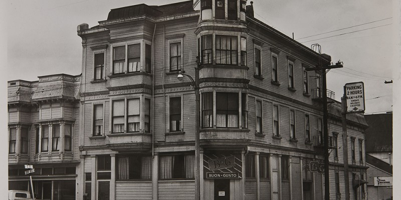 The Eagle House in its past life as the Buon Gusto Hotel, circa 1907.