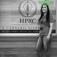 Humboldt's Best Budtender Michelle Seelye, who works the counter at Humboldt Patient Resource Center.