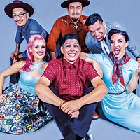 Las Cafeteras plays the Van Duzer Theatre at 8 p.m. on Friday, Aug. 24.