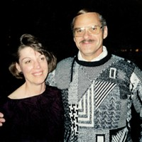 Judy and Dick Magney, circa 1992.