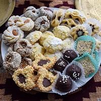 Sweet, fragrant Moroccan tea cookies.