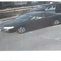 The car believed to belong to the suspect.
