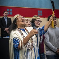 Wiyot tribal elder Cheryl Seidner has worked for the return of Duluwat Island for decades, carrying on the efforts of her parents.