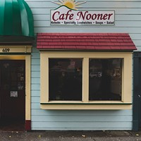 Café Nooner in Old Town.