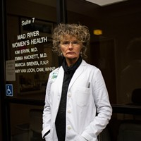 Kim Ervin, now of Open Door Community Health Centers, has worked as a local OBGYN for 30 years.