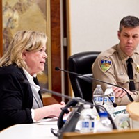 Humboldt County Public Health Officer Teresa Frankovich and Sheriff William Honsal talk COVID-19 at last night's virtual town hall meeting.