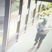 Security footage of the suspect