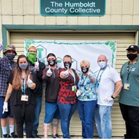 The staff at The Humboldt County Collective, voted Best Dispensary. Submitted.