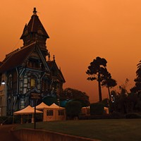 The Ingomar Club takes on a foreboding look on Sept. 9.