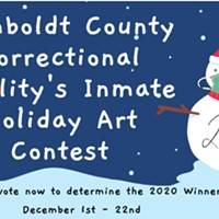 Humboldt County Correctional Facility's Inmate Holiday Art Contest
