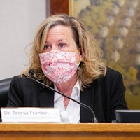 Humboldt County Health Officer Teresa Frankovich.