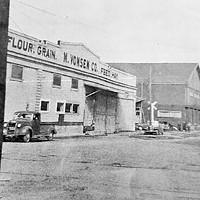 "A shot of the ""opera building"" circa 1950."