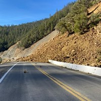A slide has closed Highway 96.