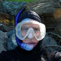ERRP Managing Director Pat Higgins would rather be under water.