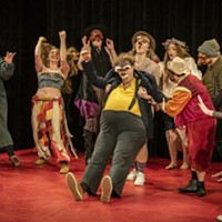 A performance by the first-year Dell'Arte Commedia students.