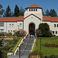 Humboldt State's Founders Hall.