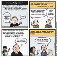 Ironies of Afghanistan