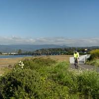 Eureka Waterfront Trail.