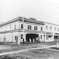 View from outside of the Minor on opening day, Dec. 13, 1914.