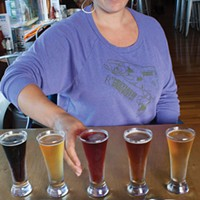 Meredith Maier of 6 Rivers Brewery loves the way food pairings can help people enjoy beer styles they might not have appreciated before.