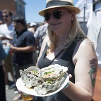 Shelling out the good stuff at the 26th annual Arcata Bay Oyster Festival.