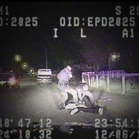 A still frame from a Dec. 6 2012 Eureka police video.