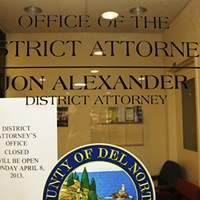 Jon Alexander's former office