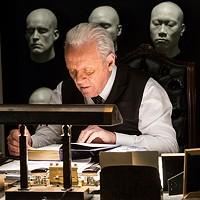 Anthony Hopkins as a maker of AI robots on Westworld.