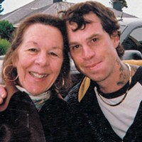Daren Borges (right) with his mother, Stephany Borges.