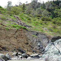 Here's what the NCRA line looks like in the Eel River Canyon.