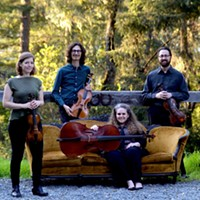"Sylvestris Quartet will play their program ""Metamorphosis"" on Wednesday, March 21 at 7:30 p.m. at the Westhaven Center for the Arts."