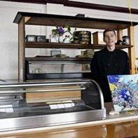 Sushi chef Josh Hand is back behind the counter at Tomo Japanese Restaurant.