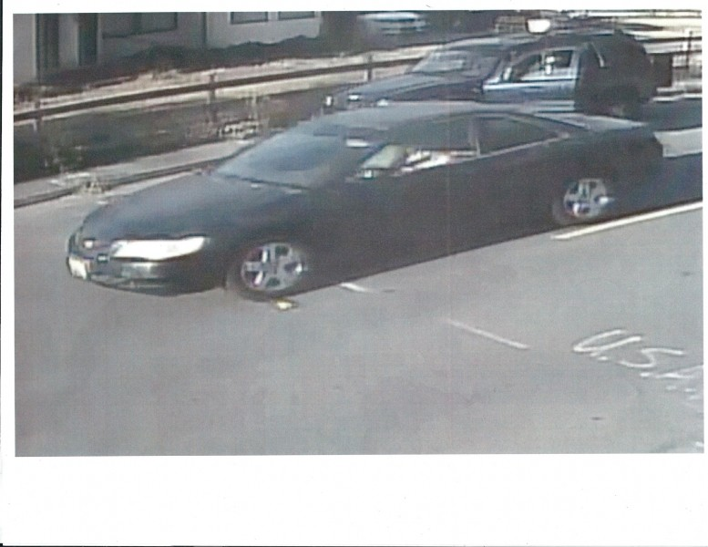 The car believed to belong to the suspect. - CITY OF RIO DELL
