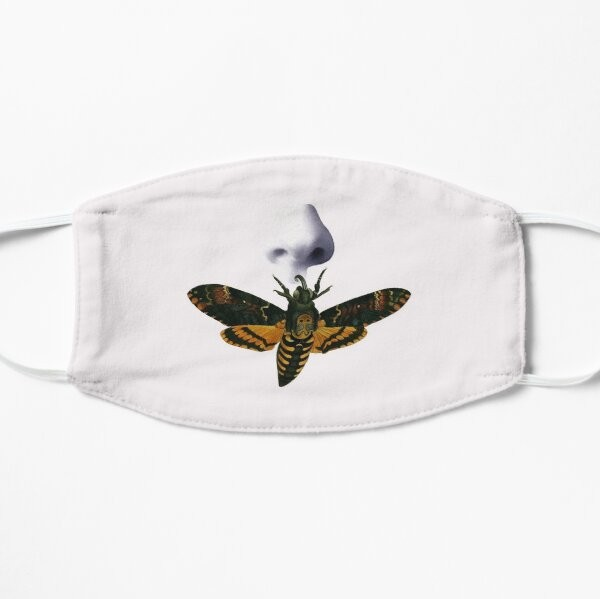 Death's Head Moth with Nose mask by Aimee Hennessy. - REDBUBBLE