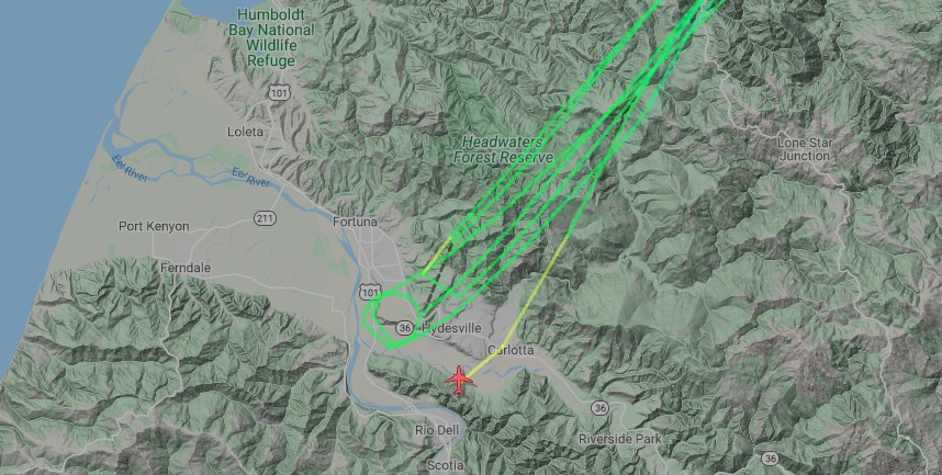 Tanker 96 was leaving and returning in quick round trips prior to the accident.