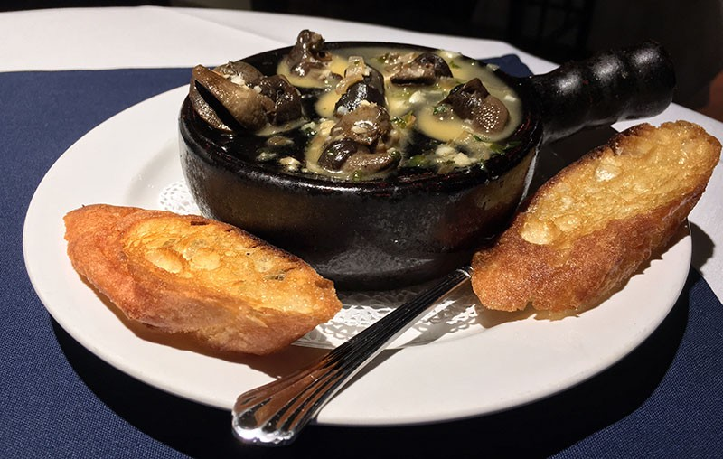 Escargot and the power of butter. - JENNIFER FUMIKO CAHILL