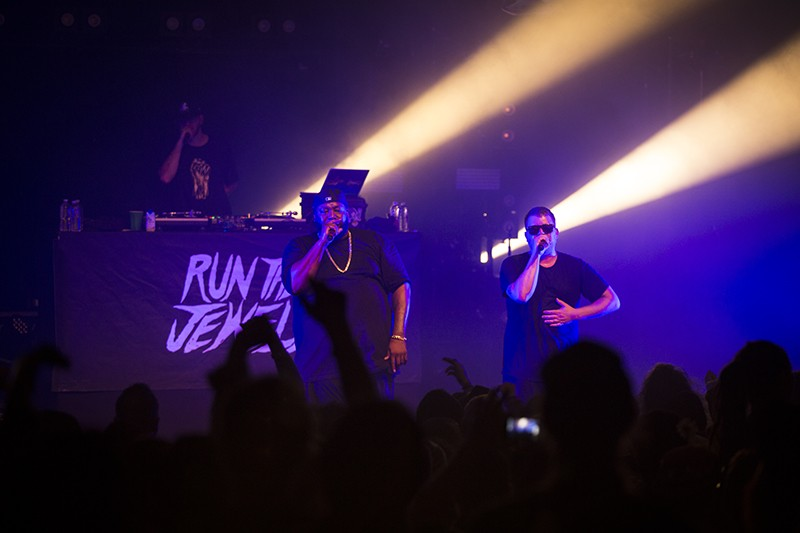 Run the Jewels at the Van Duzer Theater on Feb. 5. - PHOTO BY SAM ARMANINO
