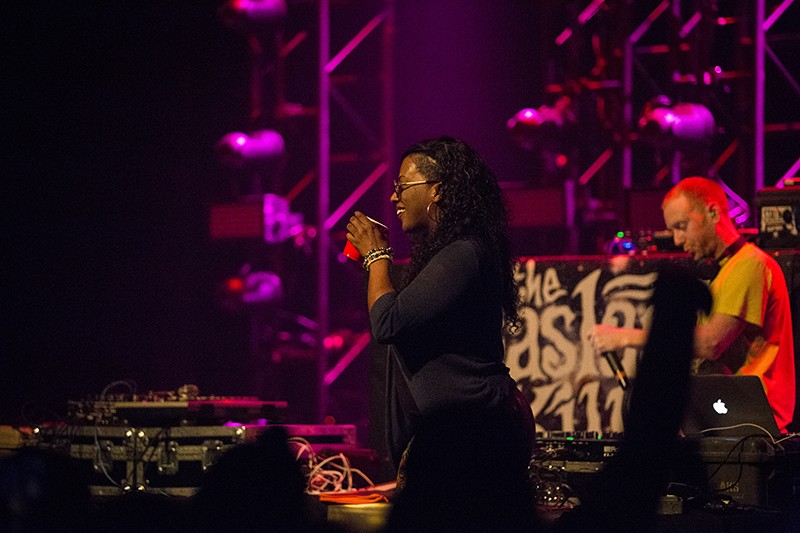 Gangsta Boo of Three 6 Mafia fame. - PHOTO BY SAM ARMANINO