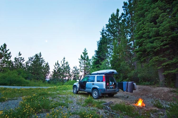 At the base of Salmon Mountain - SEAN JANSEN