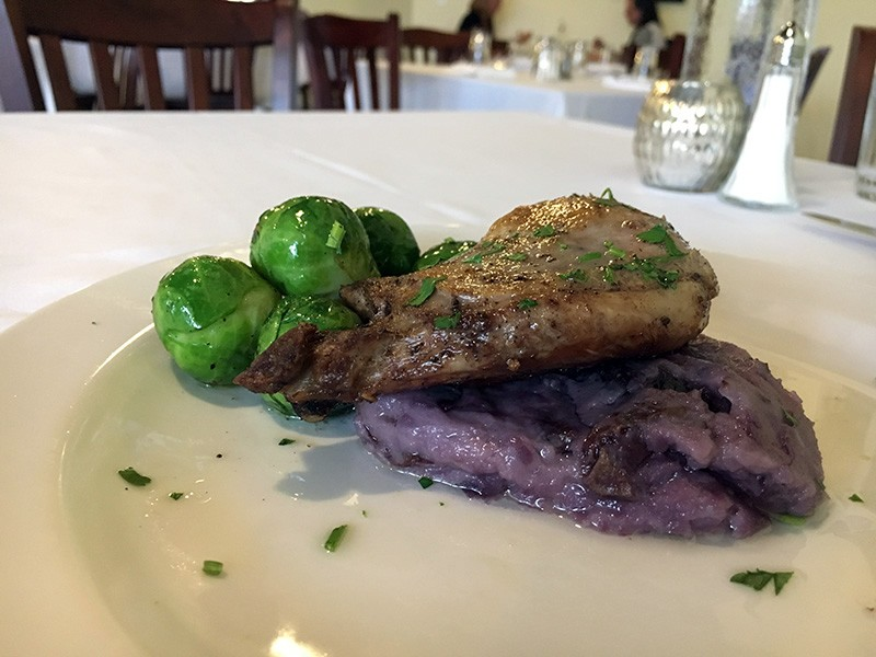 Duck confit just like Maman used to make. - JENNIFER FUMIKO CAHILL