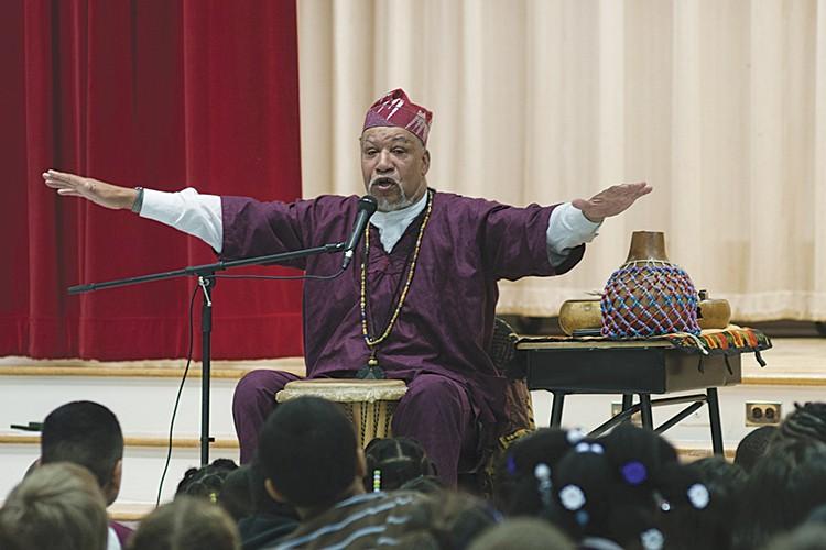 Baba Jamal Koram - COURTESY OF THE ARTIST