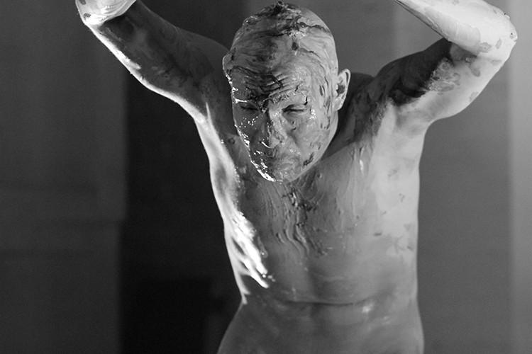 Butoh performance - PHOTO BY JORGE LUNA