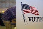 Voters hit the polls Tuesday in record numbers.